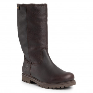 Stivali al ginocchio CLARKS Marana Trudy 261372254 Dark Brown Leather