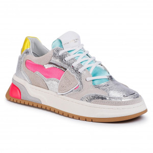 Sneakers PHILIPPE MODEL Trpx TZLD WF11 Blanc Fucsia