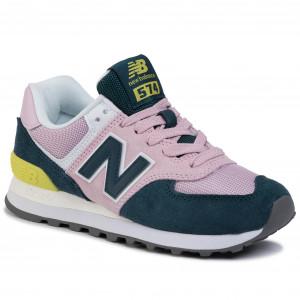 Sneakers NEW BALANCE - WL574NWB Rosa Verde - Sneakers - Scarpe ...