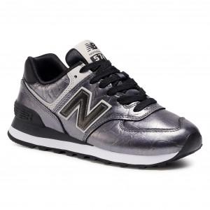 Sneakers NEW BALANCE - WL574WNF Argento - Sneakers - Scarpe basse ...
