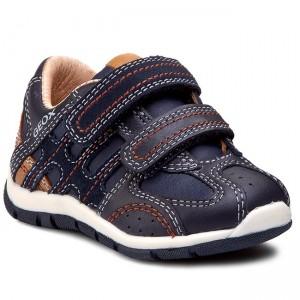 Sneakers GEOX B Pavlis B. A B841RA 050FU C4248 NavyGreen