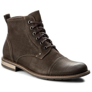 Up Brown Leather Clarks 261268807 Dark Chelsea Daulton DY2EbeHW9I
