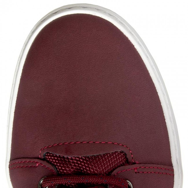 Donna Scarpe Basse Sneakers Lacoste - Ampthill Chukka 416 1 Spw 7-32spw01541v9 Burg