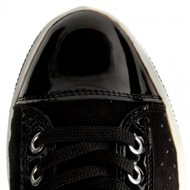 Donna Scarpe Basse Sneakers Geox - J Creamy A J64l5a 022hh C9999 D Nero