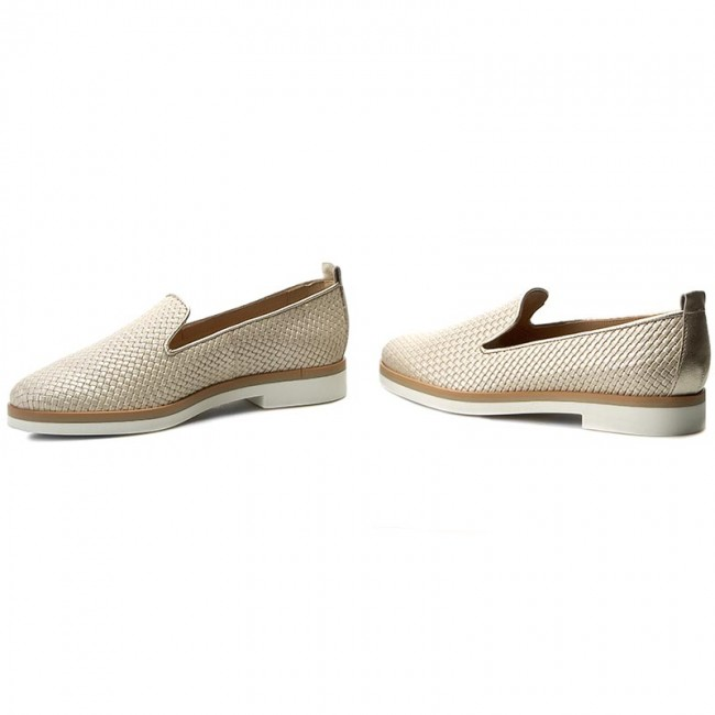 Donna Scarpe Basse Loafers Geox - D Janalee H D725ah 047nf C1008 Kremowy