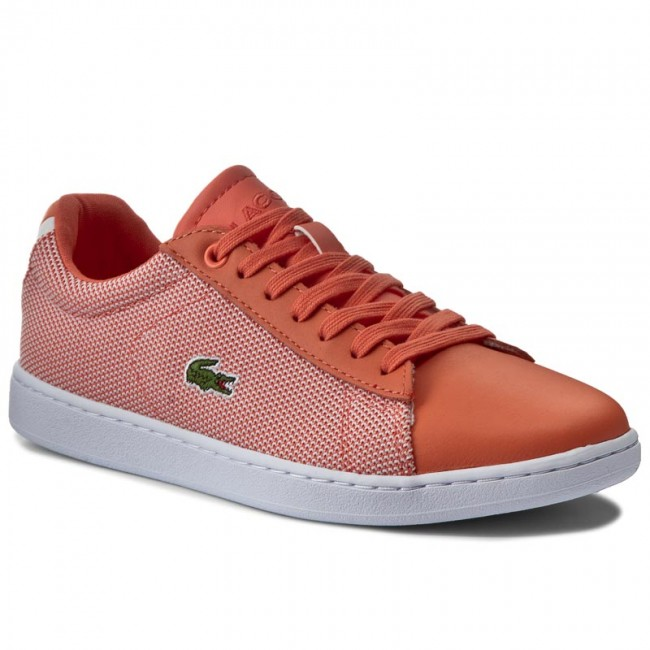 Donna Scarpe Basse Sneakers Lacoste - Carnaby Evo 117 1 7-33spw1010m2w Org wht