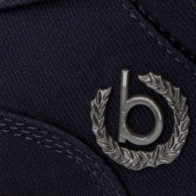 Basse Blu Scarpe Bugatti Scuro
