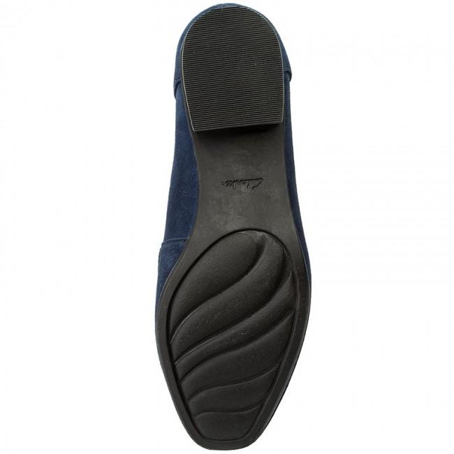 Blu Scuro Scarpe Basse Clarks