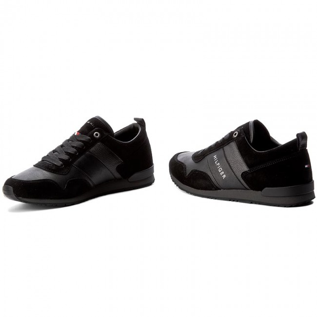Nero Sneakers Tommy Hilfiger
