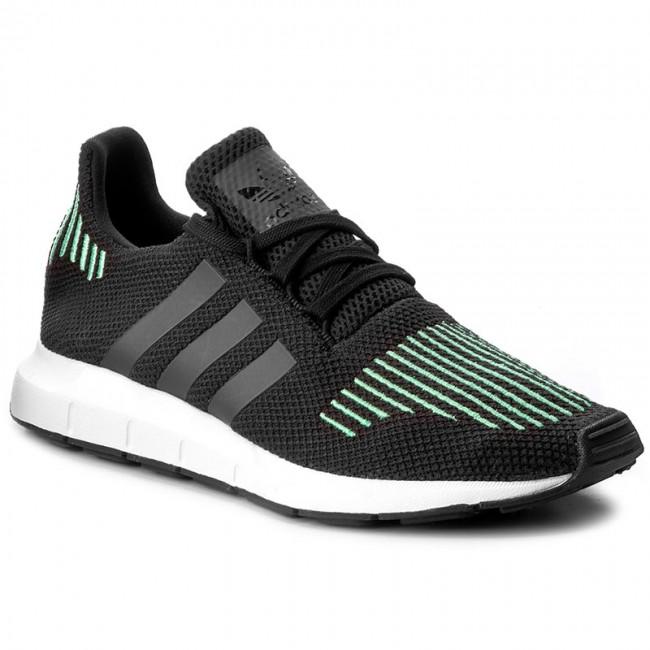 Donna Scarpe Basse Sneakers Adidas - Swift Run Cg4110 Cblack utiblk ftwwht