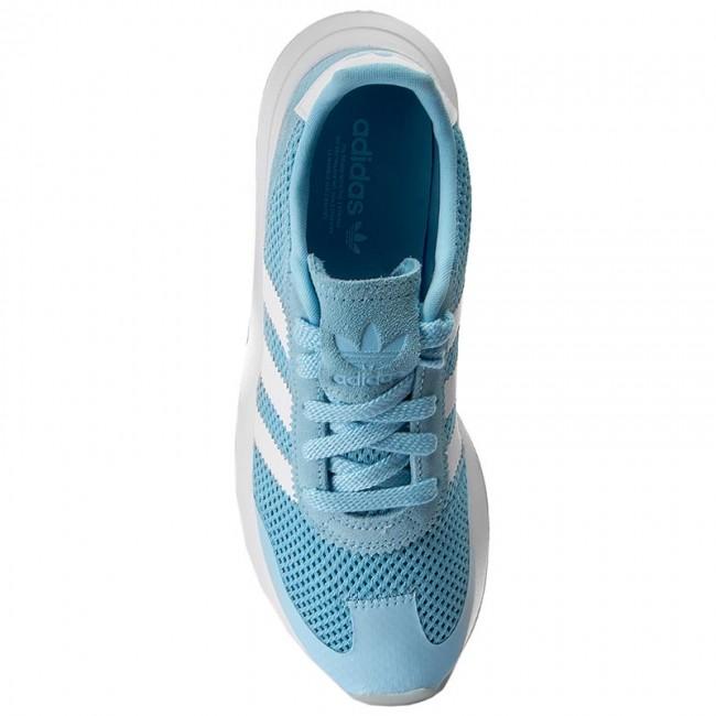 Donna Scarpe Basse Sneakers Adidas - Flb W By9306 Iceblu peagre gum4