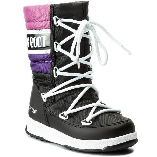 Nero Stivali Da Neve Moon Boot