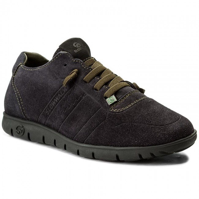 Blu Scuro Scarpe Basse Slow Walk
