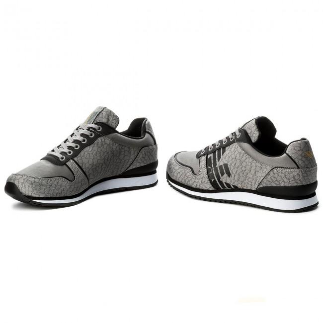 Grigio Sneakers Emporio Armani