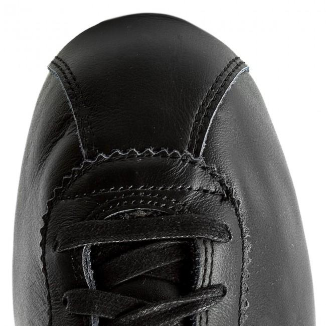Leather Prem - 005 Black Brn Nike Sneakers Cortez Basse Orewood black Scarpe lt Uomo Classic 861677