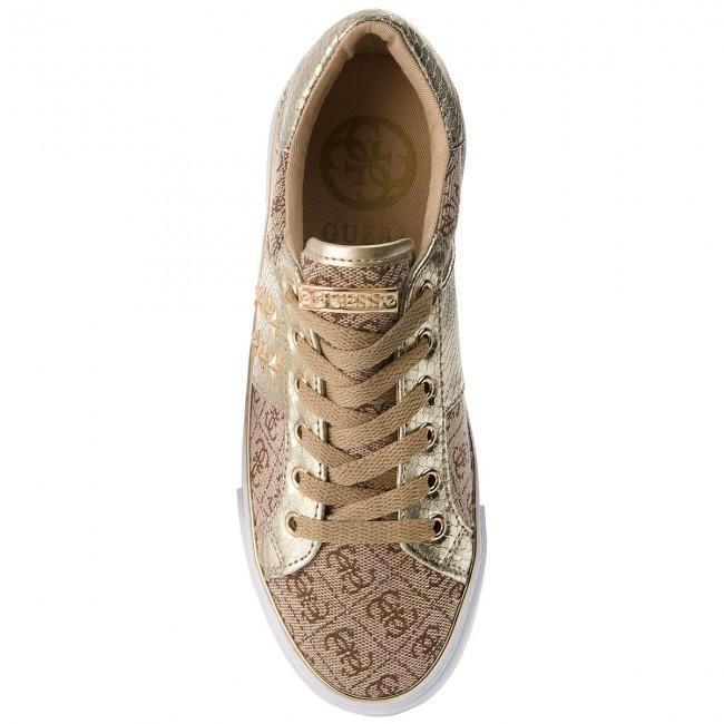 Marrone Oro Sneakers Guess