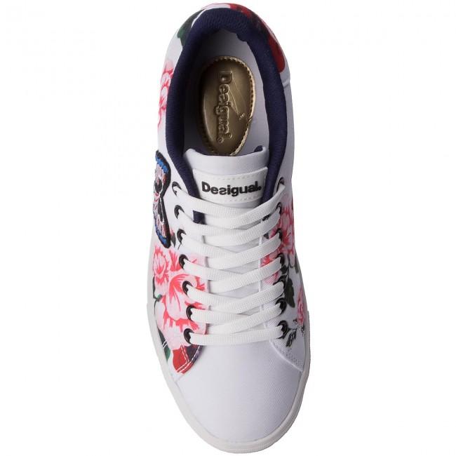 Bianco Multicolore Sneakers Desigual