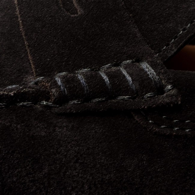 Uomo Scarpe Basse Mocassini Tommy Hilfiger - Classic Suede Penny Loafer Fm0fm01168 Midnight 403