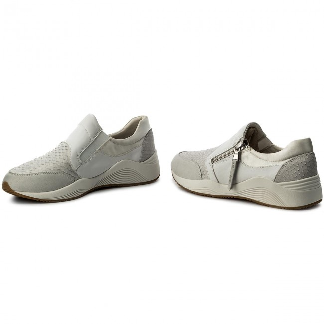 Bianco Grigio Sneakers Geox