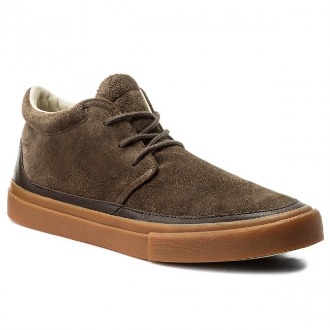 Uomo Scarpe Basse Sneakers Marc O'polo - 707 23784001 301 Dark Brown 790
