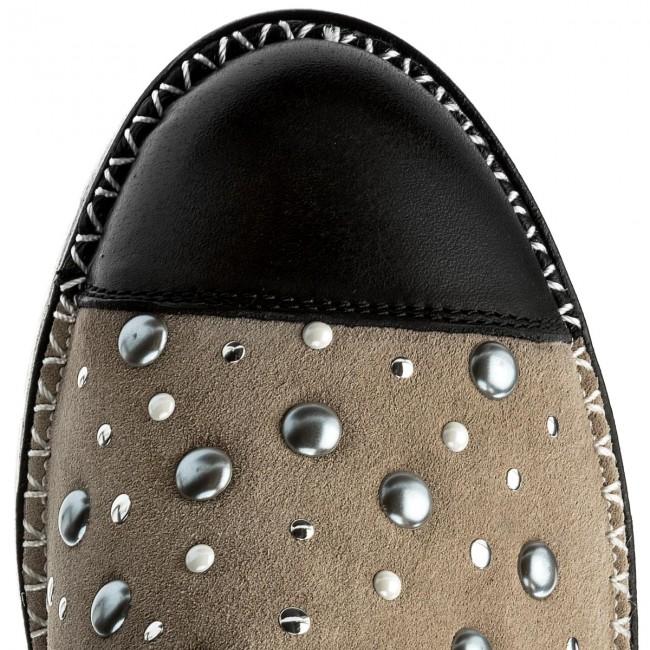 Donna Scarpe Basse Hispanitas - Maui-v8 Chv86739 Black taupe