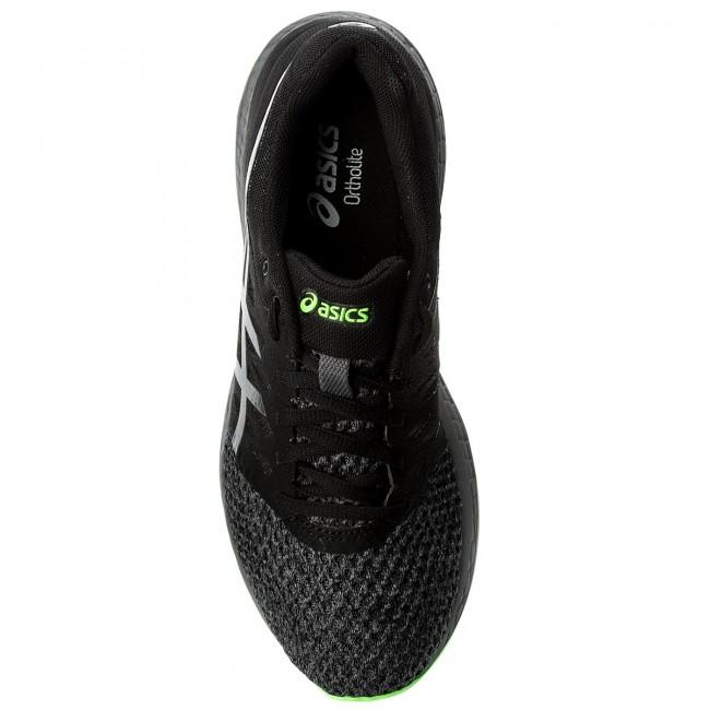 Uomo Scarpe Sportive Running Da Allenamento Asics - Gel-exalt 4 T7e0n Black carbon green Gecko 9097