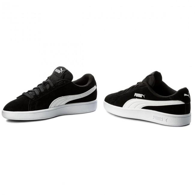 Donna Scarpe Basse Sneakers Puma - Smash V2 Sd Jr 365176 01 Black puma White