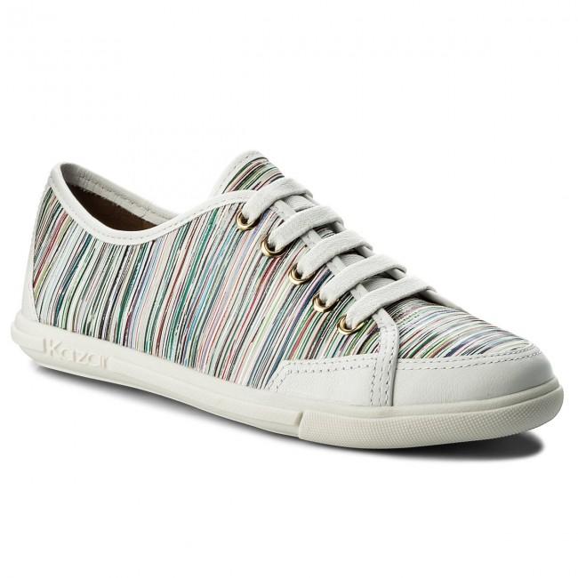 Basse Scarpe Kazar Multicolore Bianco