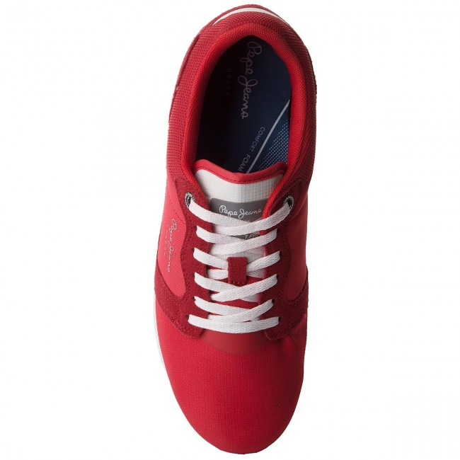 Uomo Scarpe Basse Sneakers Pepe Jeans - Tinker Pro 120 Factory Red 220
