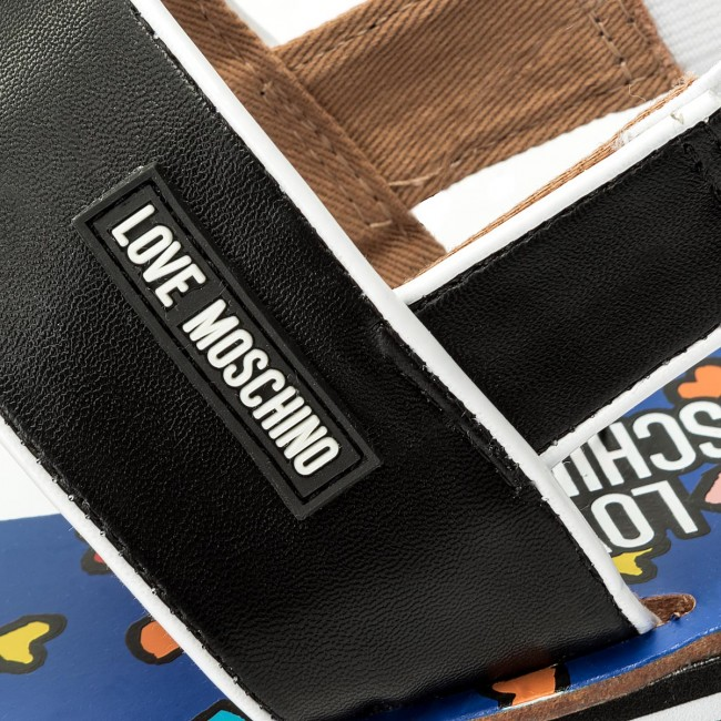 Nero Sandali Love Moschino