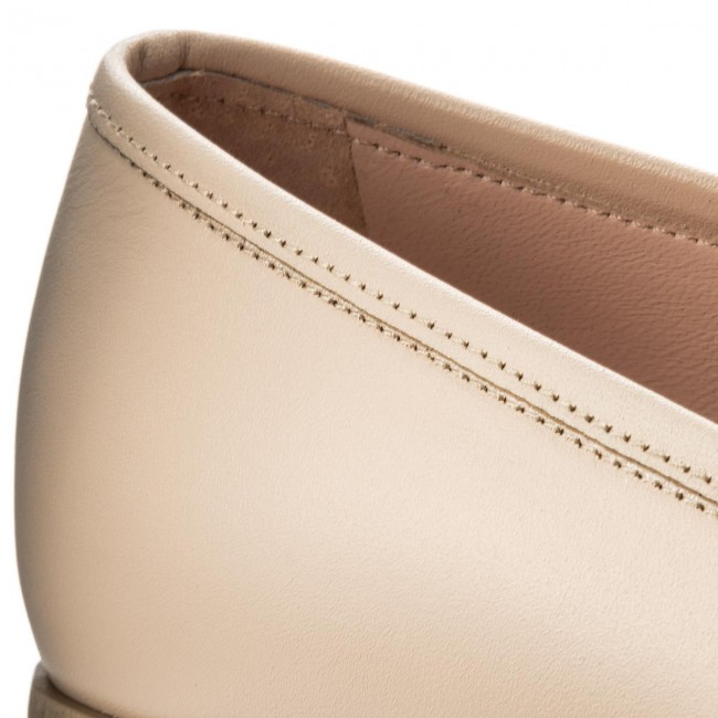 Donna Scarpe Basse Loafers L37 - Stand Up S33 Beige