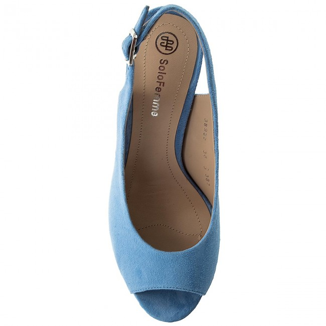 Blu Sandali Solo Femme
