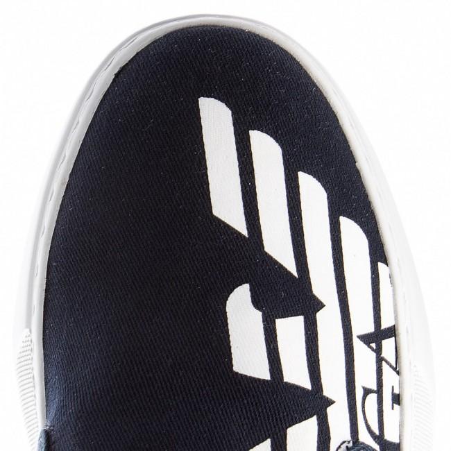 Scuro Blu Emporio Sportive Armani Ea7 Scarpe