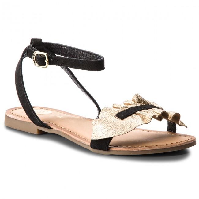 Donna Ciabatte E Sandali Da Giorno Gioseppo - 44923 Gold black