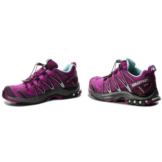 Donna Scarpe Sportive Running Trail Salomon - Xa Pro 3d Gtx Gore-tex 404723 23 V0 Hollyhock dark Purple eggshell Blue