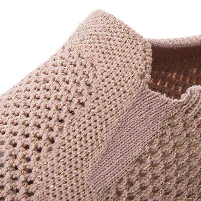Donna Scarpe Basse Da Ginnastica Sportive Tommy Hilfiger - Knitted Light Weight Slip On Fw0fw03361 Dusty Rose 502