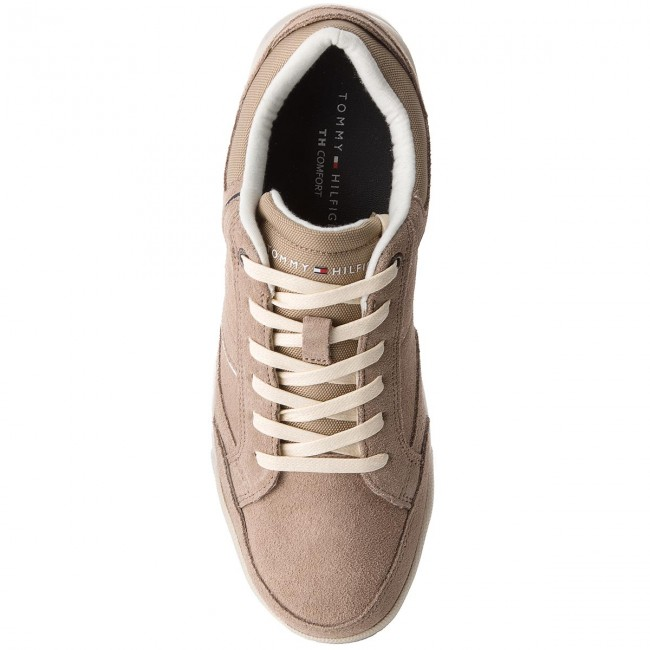 Beige Sneakers Tommy Hilfiger