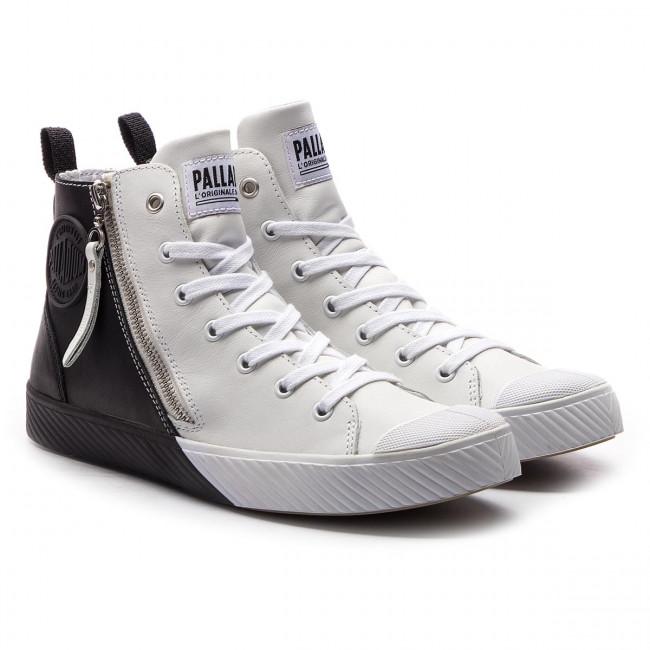 Donna Scarpe Basse Sneakers Polacchi Palladium - Pallaphoenix Z 2tone 75953-904-m White black