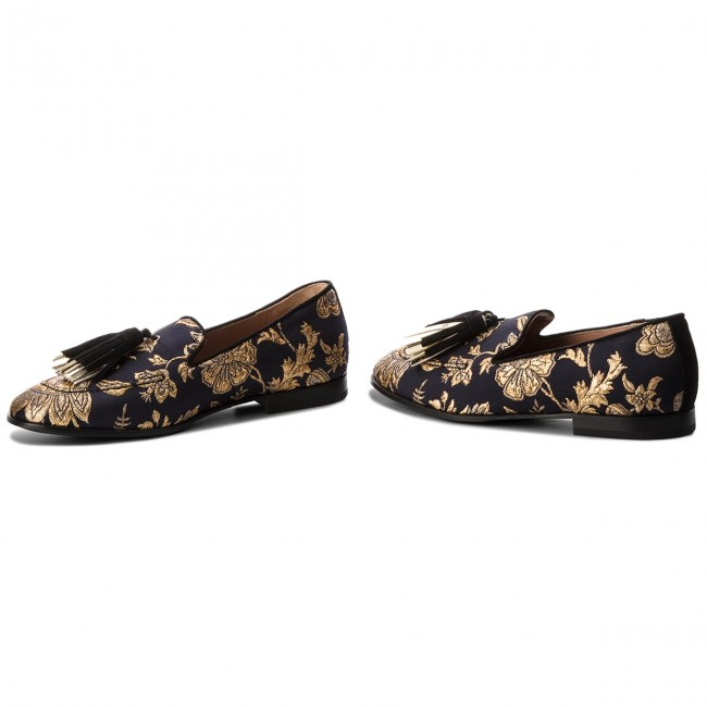 Blu Scuro Loafers Pollini