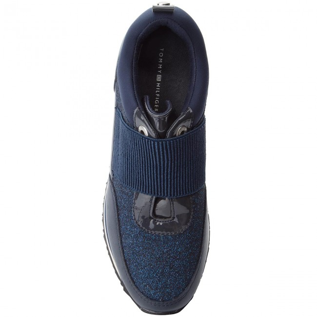 Scuro Hilfiger Blu Sneakers Tommy