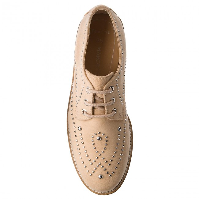Beige Oxfords Marco Tozzi
