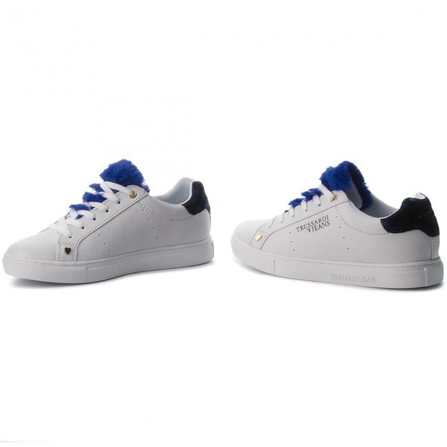 Bianco Sneakers Trussardi Jeans