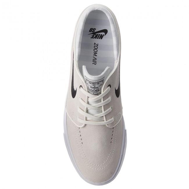 Uomo Scarpe Basse Sneakers Nike - Zoom Stefan Janoski 333824 107 Summit White black white