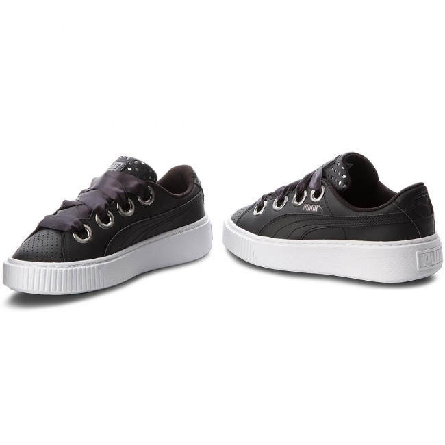 Donna Scarpe Basse Sneakers Puma - Platform Kiss Ath Lux Wn's 366704 02 Black puma Black