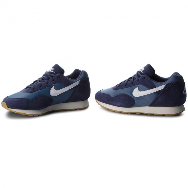 Uomo Scarpe Basse Sneakers Nike - Outburst Ao1069 500 Neutral Indigo white