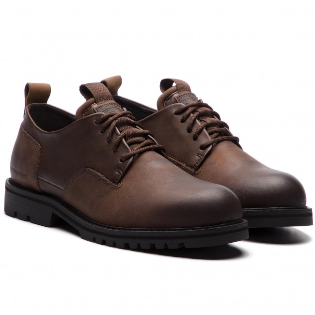 Uomo Scarpe Basse Da Giorno G-star Raw - Core Derby Ii D10780-a604-288 Dk Brown