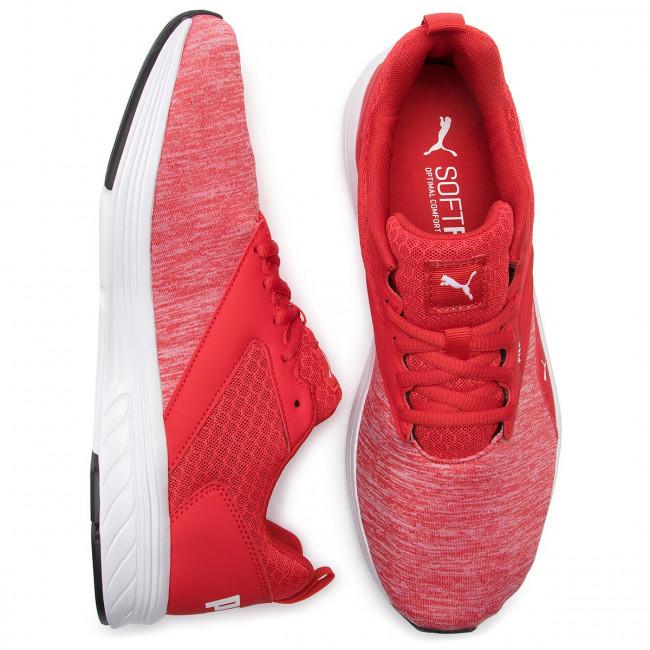 Sport Uomo Running Scarpe Da Allenamento Puma - Nrgy Comet 190556 19 High Risk Red puma White