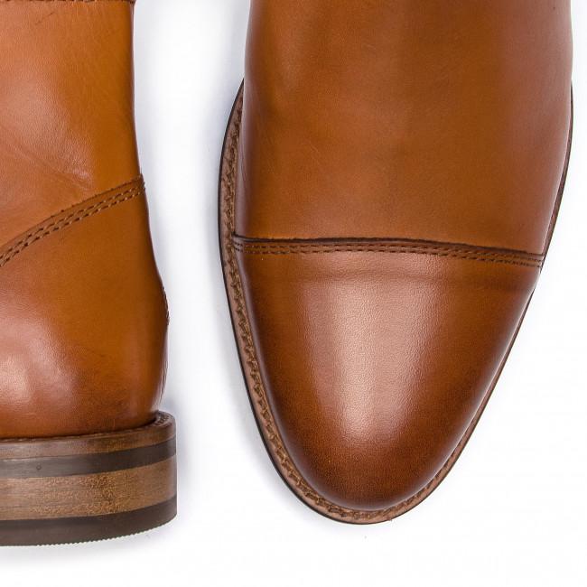Uomo Stivali E Altri Tommy Hilfiger - Essential Leather Toecap Chelsea Fm0fm02140 Winter Cognac 906