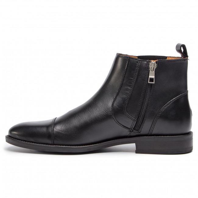 Uomo Stivali E Altri Tommy Hilfiger - Essential Leather Toecap Chelsea Fm0fm02140 Black 990
