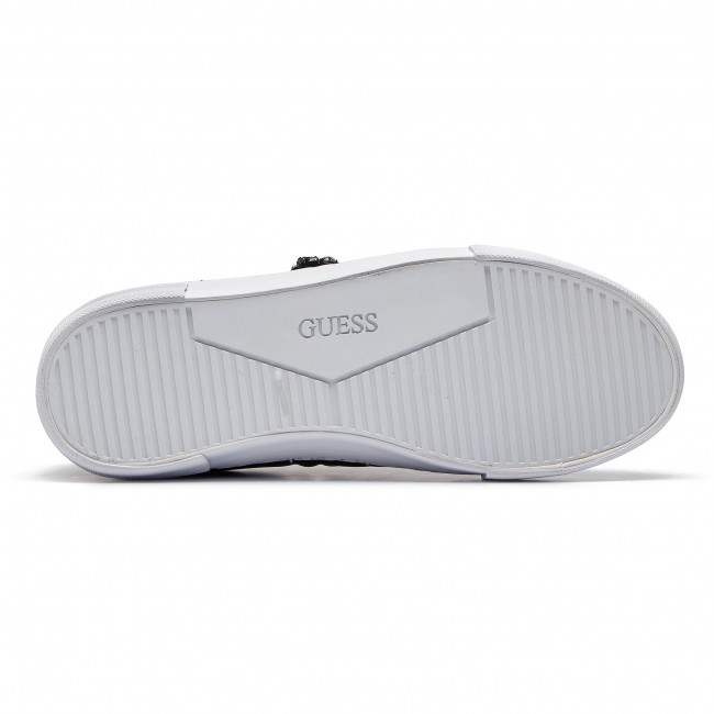 Donna Scarpe Basse Sneakers Guess - Fl5grs Ele12 Black